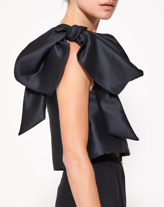 LU Asymmetrical Bow Top