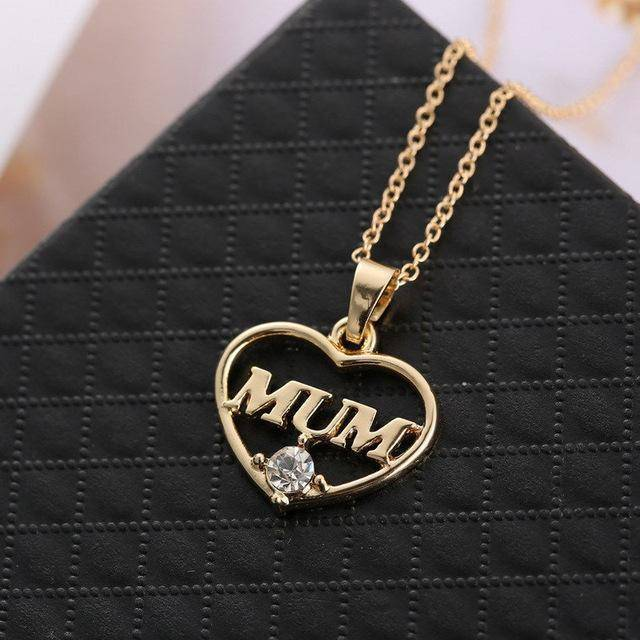 Simple heart shaped pendant for your mum tap to expand aloadofball Image collections
