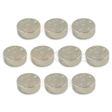 Button Cell Replacement Batteries - 10pk