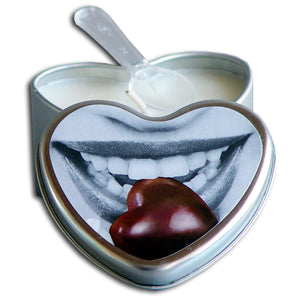 Edible Heart Hempseed Candle