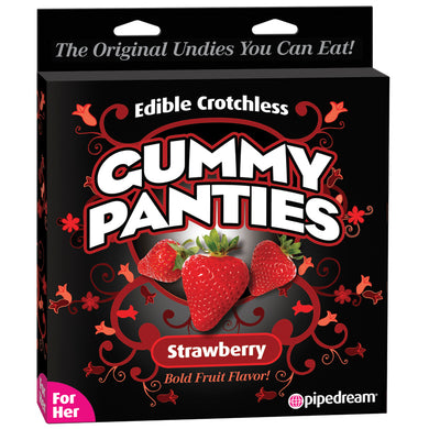 Edible Crotchless Gummy Panties