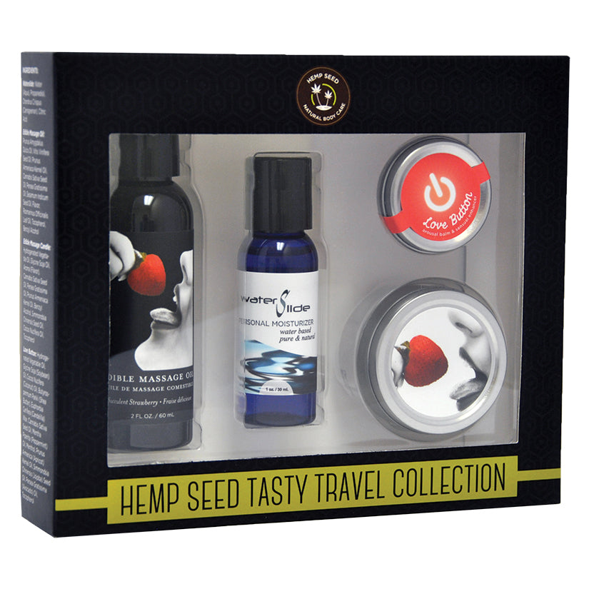 Hempseed Tasty Travel Collection