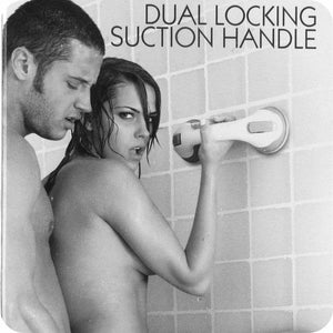 Shower Dual Locking Suction Handle
