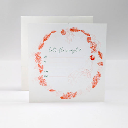 Flamingo Invites