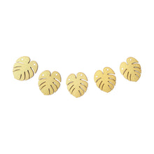 Load image into Gallery viewer, Gold Glitter Leaf Garland