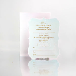 Princess (Mint) Invites