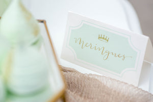 Printables - Princess (Mint)