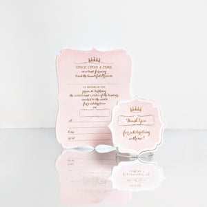 Princess (Blush) Invites