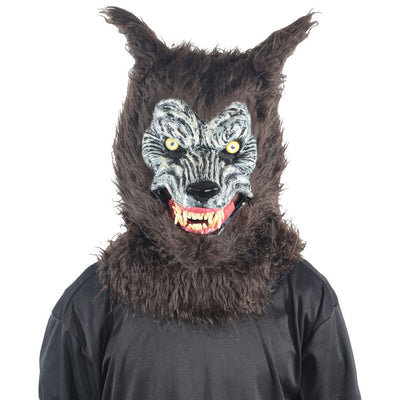Werewolf Mask w/Moving Mouth