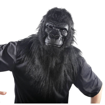 Gorilla Mask w/Moving Mouth - Carnival Store
