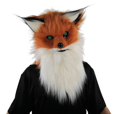 Fox Adult Mask w/Moving Mouth - Carnival Store