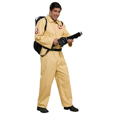 Deluxe Ghostbuster Kostüm | Ghostbusters Jumpsuit Adult - Carnival Store