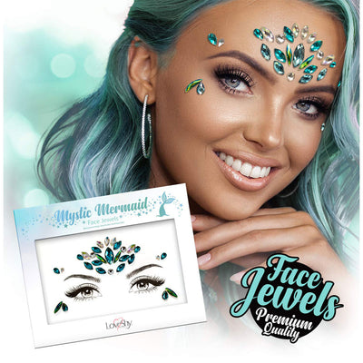Face Jewels Mystic Mermaid
