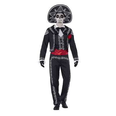Herren Tag der Toten Senor Bones Kostüm | Day of the Dead Senor Bones Costume