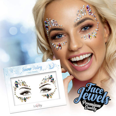 Face Jewels Snow Fairy