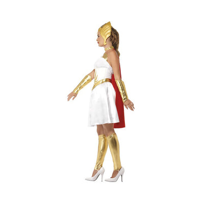 She-Ra Latex Costume with Dress, Latex Chest - Carnival Store