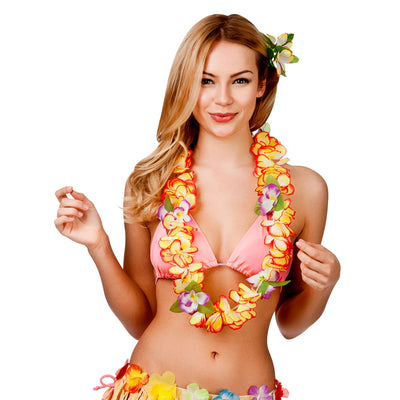 Orchid Lei Flower - Carnival Store