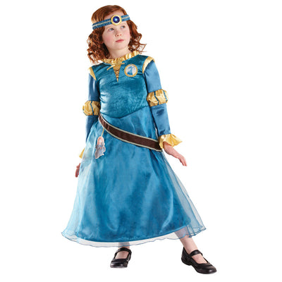 Disney Kostüm Luxe Every Day Merida | Merida Disney Princess Deluxe Children Costume