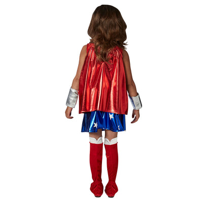 Deluxe Wonder Woman - Kinder-Kostüm | Deluxe Wonder Woman Costume - Carnival Store