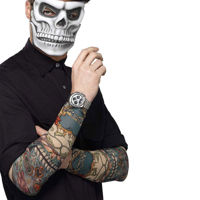 Herren Tag der Toten Tattoo Ärmel | Day of the Dead Tattoo Sleeve