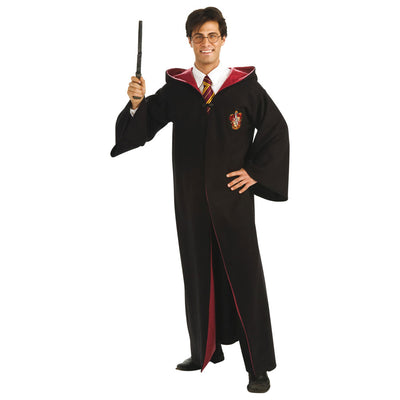 Deluxe Harry Potter Kostüm für Erwachsene | Harry Potter Deluxe Robe - Adult Fancy Dress Costume - Carnival Store
