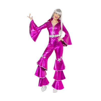 1970'S Dancing Dream Costume, Pink - Carnival Store