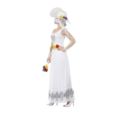 Day of the Dead Skeleton Bride Costume - Carnival Store