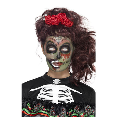 Damen Tag der Toten Zombie Make-Up Set | Day of the Dead Zombie Make-Up Kit - carnivalstore.de