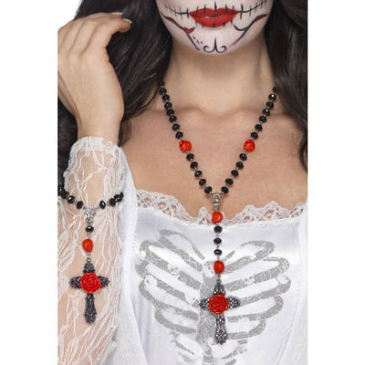 Day of the Dead Rosary Bead Set - Carnival Store