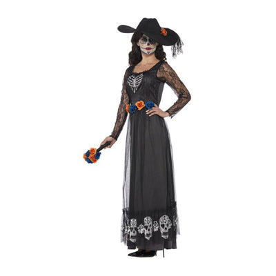 Day of the Dead Skeleton Bride Costume - carnivalstore.de