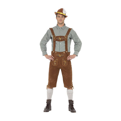 Traditional Deluxe Hanz Bavarian Costume