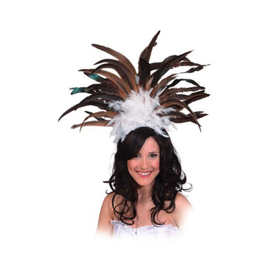 Carnival Headdress Brown - Carnival Store