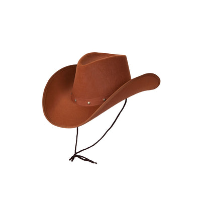 Texas Cowboy Hat Brown - Carnival Store