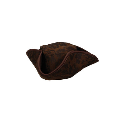 Distressed Caribbean Pirate Hat - Carnival Store