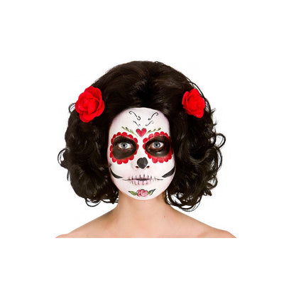 Day of the Dead Senorita Wig - Carnival Store