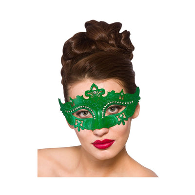 Demonte Eye Mask - Green - Carnival Store