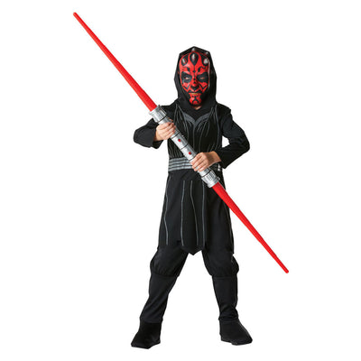 Darth Maul Star Wars Kinder Kostüm | Child's Disney Star Wars Darth Maul Costume - carnivalstore.de