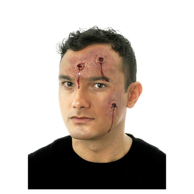 Body Hits (Bullet Holes) Costume Prosthetic - carnivalstore.de