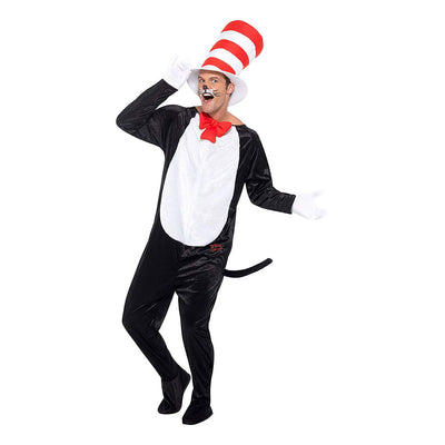 Dr Seuss Cat in the Hat Costume - Carnival Store