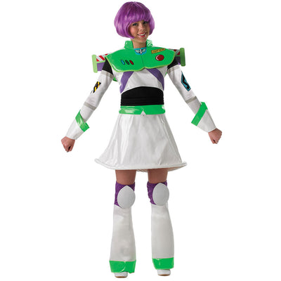 Miss Buzz Lightyear Kostüm für Damen | Toy Story, Miss Buzz Lightyear Adult Costume
