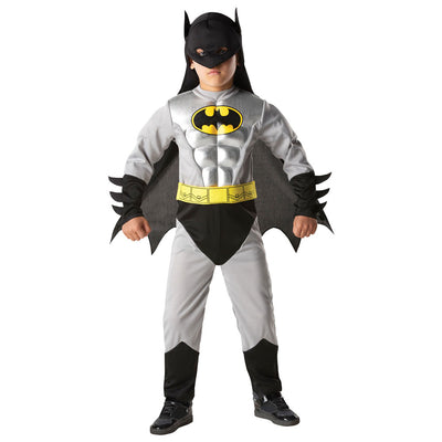 Batman Metallic Deluxe Child | Batman Fancy Dress Costume - carnivalstore.de