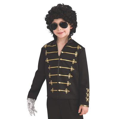 Michael Jackson Black Military Jacket Child