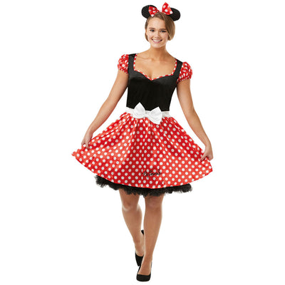 Minnie Mouse für Erwachsene | Sassy Minnie Mouse Costume
