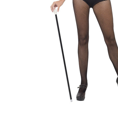20S Style Dance Cane, Black - Carnival Store