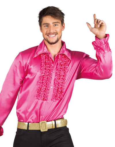 Party Shirt Hot Pink - Carnival Store