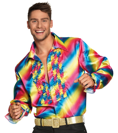 Party Shirt Rainbow - Carnival Store