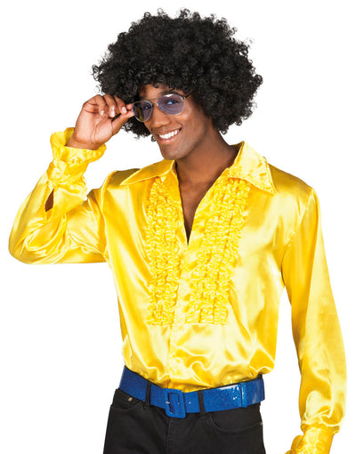 Party Shirt Yellow - Carnival Store