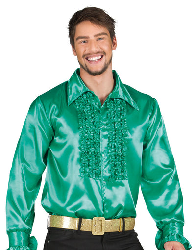 Party Shirt Dark Green - Carnival Store