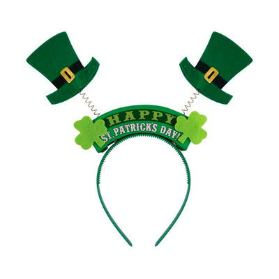 Wiggly St Patricks Day Head Boppers - Carnival Store