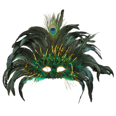 Eye Mask Peacock Queen - Carnival Store